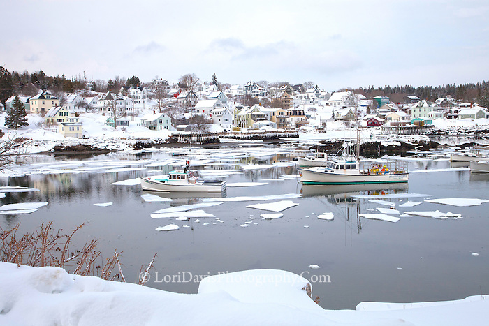 Winter Peace, Stonington, Maine