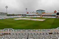 General view of the ground with rain covers prior to Nottinghamshire CCC vs Essex CCC, Specsavers County Championship Division 1 Cricket at Trent Bridge on 11th September 2018