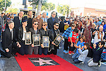 LOS ANGELES - OCT 30: Taylor Hawkins, John Densmore, John Doe, Perry Farrell, Dave Navarro, Stephen Perkins, Chris Chaney at a ceremony where 'Jane's Addiction' was honored with a star on the Hollywood Walk of Fame on October 30, 2013 in Los Angeles, California