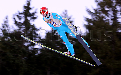 13.12.2013 Titisee-Neustadt Germany. Mens World Cup Ski-Jumping Training and Qualification. Richard Freitag (GER)