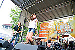 Danielle Peck performs during Day 2 of the 2013 CMA Music Festival in Nashville, Tennessee.