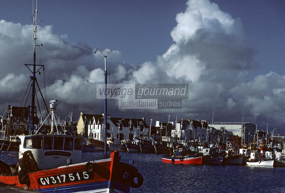 Europe/France/Bretagne/29/Finistère/Le Guilvinec: Le port et bateaux de pêche