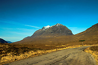 The Munro of Liathach, from the North Coast 500, Ross & Cromarty, Northwest Highlands