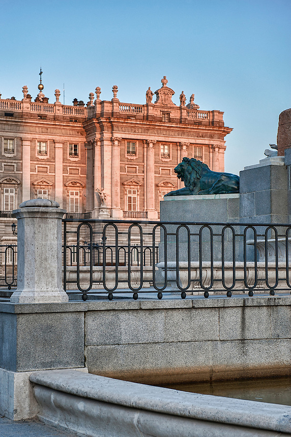 Plaza de Oriente and Royal Palace, Madrid, Spain