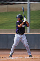 Colorado Rockies Omar Carrizales (53) during an instructional league game against the SK Wyverns on October 10, 2015 at the Salt River Fields at Talking Stick in Scottsdale, Arizona.  (Mike Janes/Four Seam Images)