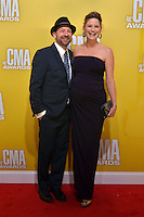 NASHVILLE, TN - NOVEMBER 1: Kristian Bush and Lucy Hale on the Macy's Red Carpet at the 46th Annual CMA Awards at the Bridgestone Arena in Nashville, TN on Nov. 1, 2012. © mpi99/MediaPunch Inc. /NortePhoto .<br />