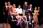 Blythe Danner Returns to Broadway: Ensemble Cast.during the Curtain Call for 'Nice Work If You Can Get It'  at the Imperial Theatre in New York City on December 19, 2012