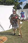 Living History event, Sutton Hoo, Suffolk, England