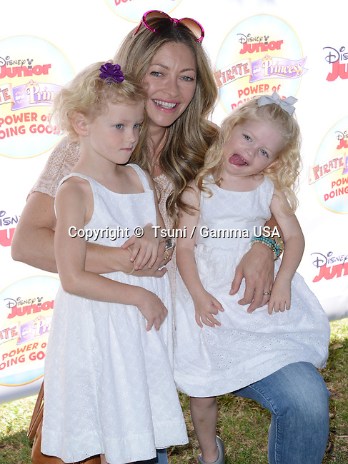 a_REBECCA GAYHEART + BILLIE BEATRICE DANE + GEORGIA DANE  118  at the Pirate & Princess: Power of Doing Good tour at the Brookside park. in Pasadena.