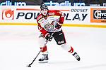 Stockholm 2014-01-08 Ishockey SHL AIK - Lule&aring; HF :  <br />  Lule&aring;s Daniel Gunnarsson i aktion <br /> (Foto: Kenta J&ouml;nsson) Nyckelord:  portr&auml;tt portrait