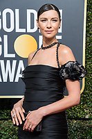 Nominated for BEST PERFORMANCE BY AN ACTRESS IN A TELEVISION SERIES &ndash; DRAMA for her role in &quot;Outlander,&quot; actress Caitriona Balfe attends the 75th Annual Golden Globes Awards at the Beverly Hilton in Beverly Hills, CA on Sunday, January 7, 2018.<br /> *Editorial Use Only*<br /> CAP/PLF/HFPA<br /> &copy;HFPA/Capital Pictures
