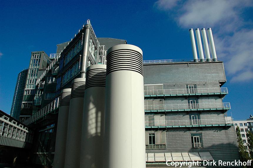 Verlagsgebäude von Gruner und Jahr in Hamburg, Deutschland