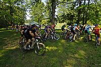 Waverly Park Mountain Bike Race, Louisville, KY 9 August 2009   Photo by Tom Moran