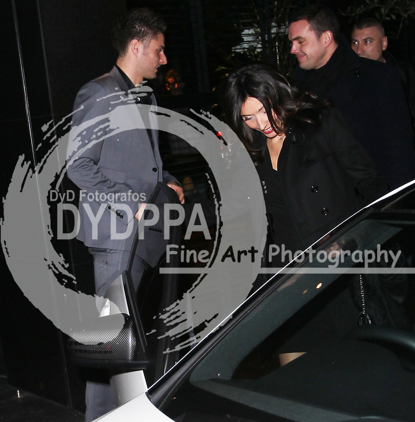 Arsenal FC Xmas Party at L'Atelier Restaurant in West St, London<br /> <br /> Olivier Giroud<br /> <br /> Photo: Iso / DYD Fotografos
