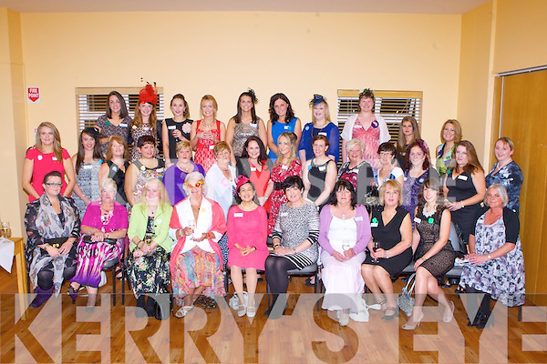 The contestants in the Killorglin Wildflowers at the Killorglin CYMS hall on thursday evening