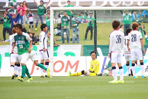 Takashi Kitano (Cerezo U-23), APRIL 24, 2016 - Football /Soccer : 2016 J3 League match between SC Sagamihara 3-1 Cerezo Osaka U-23 at Sagamihara Gion Stadium, Kanagawa, Japan. (Photo by AFLO SPORT)