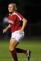 14 September 2007: Stanford Cardinal Rachel Buehler during Stanford's 3-2 win in the Stanford Invitational against the Missouri Tigers at Maloney Field in Stanford, CA.
