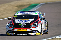 #19 Bobby Thompson Trade Price Cars with Team HARD Racing Volkswagen CC during BTCC Practice  as part of the Dunlop MSA British Touring Car Championship - Rockingham 2018 at Rockingham, Corby, Northamptonshire, United Kingdom. August 11 2018. World Copyright Peter Taylor/PSP. Copy of publication required for printed pictures.