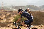 Mark Christian (GBR) Aqua Blue Sport in action during Stage 2 of the 2018 Tour of Oman running 167.5km from Sultan Qaboos University to Al Bustan. 14th February 2018.<br /> Picture: ASO/Muscat Municipality/Kare Dehlie Thorstad | Cyclefile<br /> <br /> <br /> All photos usage must carry mandatory copyright credit (&copy; Cyclefile | ASO/Muscat Municipality/Kare Dehlie Thorstad)