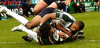 Leicester, ENGLAND.  Harry Ellis, Delon Armitage, Guinness Premiership Semi-Final. Leicester Tigers vs London Irish, at Welford Road, 05.2006. © Peter Spurrier/Intersport-images.com,  / Mobile +44 [0] 7973 819 551 / email images@intersport-images.com.   [Mandatory Credit, Peter Spurier/ Intersport Images].14.05.2006