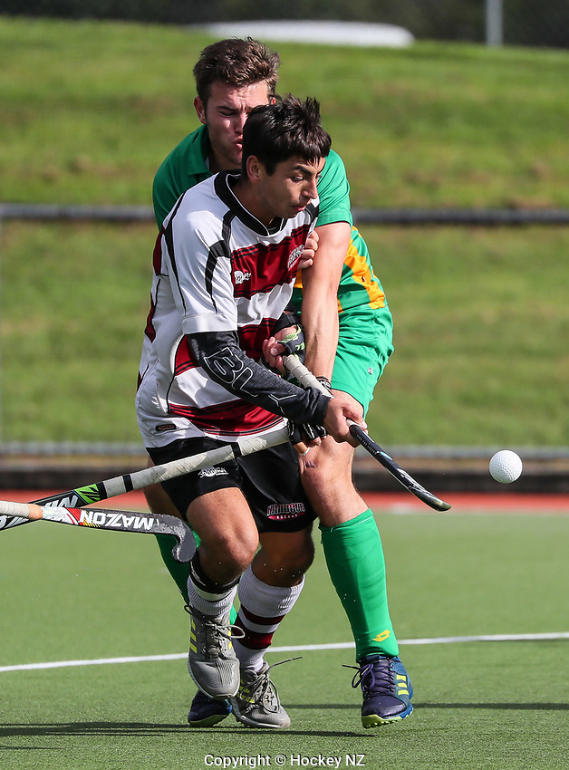 North Harbour v Central Men. Under 21 National Hockey Championships, North Harbour Hockey Stadium, Auckland, Tuesday 7 May 2019. Photo: Simon Watts/Hockey NZ