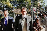 CURITIBA, PR, 27.06.2016 -LAVA-JATO - O ex-tesoureiro do PT, Delúbio Soares,chega a sede da Justiça federal em Curitiba (PR) na tarde desta segunda-feira(27) onde participa da acareação com o pecuarista José Carlos Bumlai em um dos processos da Operação Lava Jato. Delúbio já foi condenado no processo conhecido como Mensalão.(Foto: Paulo Lisboa/Brazil Photo Press)