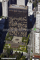 aerial photograph of the One Maritime Plaza office tower, 300 Clay Street, San Francisco, California