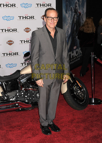 HOLLYWOOD, CA - NOVEMBER 04: Clark Gregg at the Los Angeles Premiere 'Thor: The Dark World' at the El Capitan Theatre on November 4, 2013 in Hollywood, California, USA.<br /> CAP/ROT/TM<br /> &copy;Tony Michaels/Roth Stock/Capital Pictures
