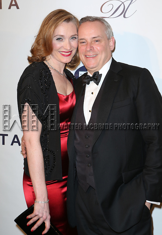 Kate Jennings Grant and Doug Hughes attends the Drama League's 30th Annual 'Musical Celebration of Broadway' honoring Neil Patrick Harris at the Pierre Hotel on February 3, 2014 in New York City.
