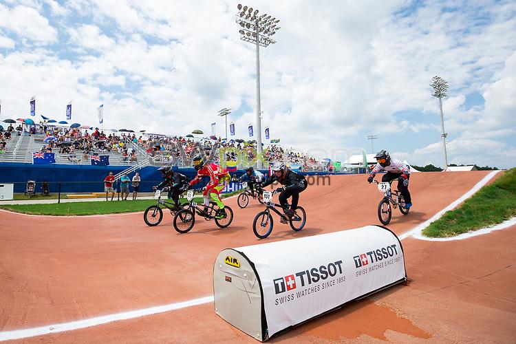Picture by Alex Whitehead/SWpix.com - 29/07/2017 - Cycling - 2017 UCI BMX World Championships - Novant Health BMX Supercross Track, Rock Hill, USA - Brief. Tissot