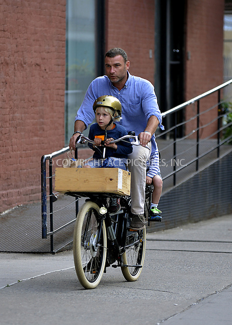 WWW.ACEPIXS.COM<br /> <br /> September 9 2013, New York City<br /> <br /> Actor Liev Schreiber brings his children Sasha and Sam home from school on September 9 2013 in New York City<br /> <br /> By Line: Curtis Means/ACE Pictures<br /> <br /> <br /> ACE Pictures, Inc.<br /> tel: 646 769 0430<br /> Email: info@acepixs.com<br /> www.acepixs.com