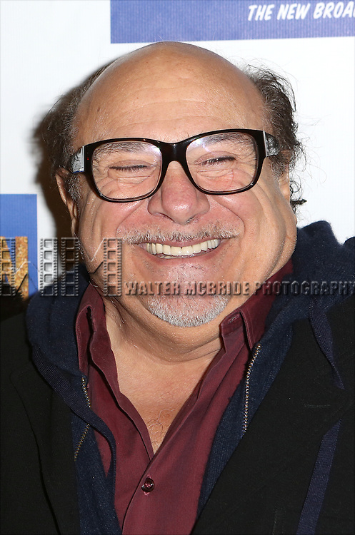 Danny Devito attends the Broadway Opening Night Performance of 'Honeymoon in Vegas' at the Nederlander Theatre on January 15, 2014 in New York City.