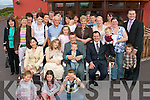 CHRISTENING CELEBRATIONS: Michelle and Peter Crean, Castlegregory celebrated the Christening of their baby daughter Katie, along with their son Darragh and all their family and friends in the Seven Hogs Restaurant, Castlegregory on Saturday.   Copyright Kerry's Eye 2008