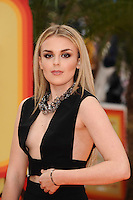 Tallia Storm at the premiere of &quot;The Nice Guys&quot; at the Odeon Leicester Square, London.<br /> May 19, 2016  London, UK<br /> Picture: Steve Vas / Featureflash