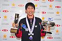 Maharu Yoshimura, JANUARY 22, 2012 - Table Tennis : All Japan Table Tennis Championships Men's Singles victory ceremony at Tokyo Metropolitan Gymnasium, Tokyo, Japan. (Photo by Jun Tsukida/AFLO SPORT) [0003]