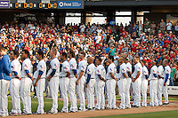 04.02.2012 - MLB Texas Rangers vs Round Rock Express