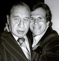 Henny Youngman and Bill Boggs Undated<br /> Photo By Adam Scull/PHOTOlink.net