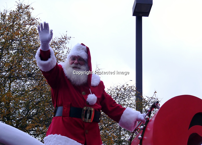 Santa Claus Dallas Christmas Parade