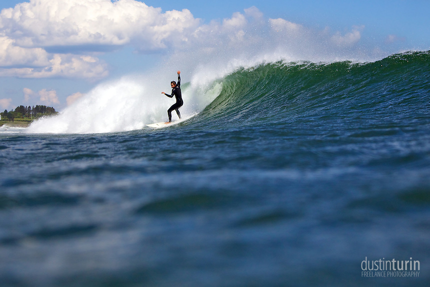 Surfer: Sawyer Theriault. Photo: Dustin Turin
