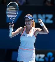 AGNIESZKA RADWANSKA  (POL)<br /> <br /> Tennis - Australian Open - Grand Slam -  Melbourne Park -  2014 -  Melbourne - Australia  - 22nd January 2013. <br /> <br /> &copy; AMN IMAGES, 1A.12B Victoria Road, Bellevue Hill, NSW 2023, Australia<br /> Tel - +61 433 754 488<br /> <br /> mike@tennisphotonet.com<br /> www.amnimages.com<br /> <br /> International Tennis Photo Agency - AMN Images