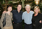 "Guiding Light's Frank Dicopoulos ""Frank Cooper"" poses with his sister Penny and dad Harry and costar Kim Zimmer at the Young Women's Breast Cancer Foundation event - Reach to Recovery - ""Spring into Shape!"" Luncheon and Fashion Show on April 6, 2008 at Embassy Suites, Coraopolis, Pennsylvania. The event also included a Chinese Auction and an autograph session with the Guiding Light actors. (Photo by Sue Coflin/Max Photos)"