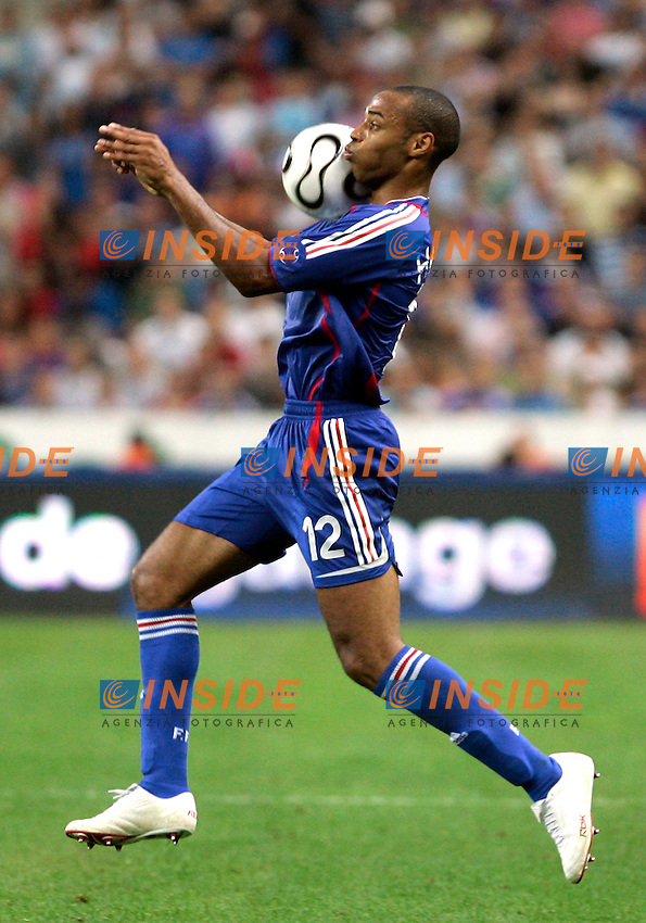 Paris/Parigi 6/9/2006 Stade de France Eliminatorie Euro 2008. France Italy 3-1 Francia Italia 3-1. Photo Andrea Staccioli INSIDE<br /> <br /> Thierry HENRY France
