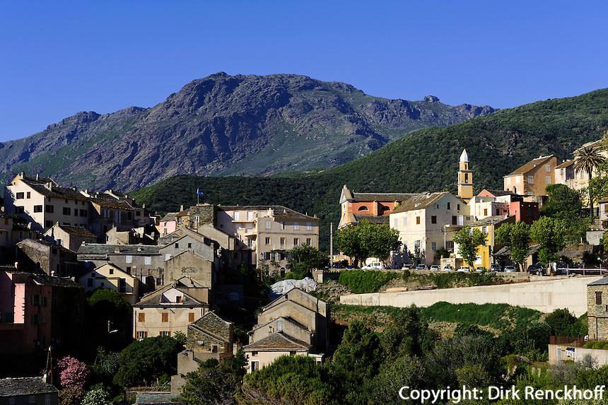 Nonza auf Cap Corse, Korsika, Frankreich