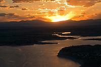 Sunset on Lake Pueblo,  June 2014. 85040