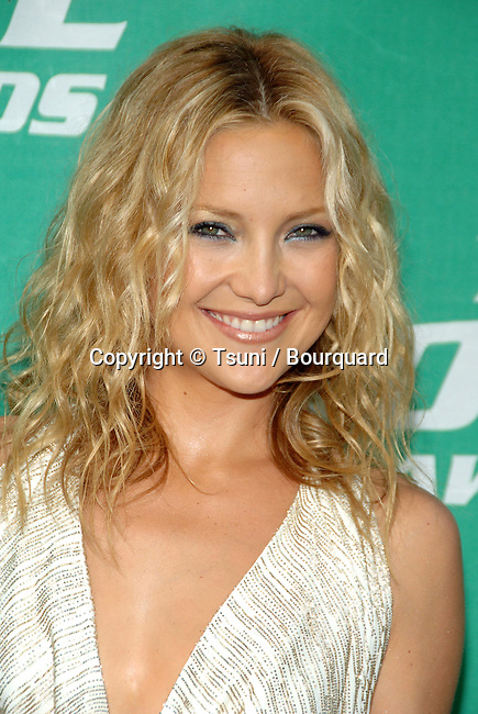 Kate Hudson arriving at the MTV Movie Awards at the Sony Lot in Los Angeles. June 3, 2006.