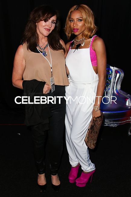 LOS ANGELES, CA, USA - MARCH 14: Krista Keller Stodden, Lil' Mama at the Style Fashion Week Los Angeles 2014 7th Season - Day 5 held at L.A. Live Event Deck on March 14, 2014 in Los Angeles, California, United States. (Photo by Xavier Collin/Celebrity Monitor)