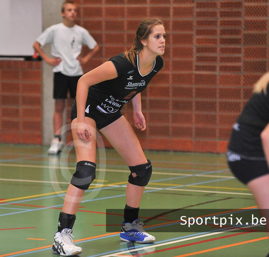 Tievolley Dames  : Annelies Cardoen<br /> foto VDB / Bart Vandenbroucke