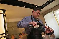"""Europe/Espagne/Pays Basque/Saint-Sébastien: Restaurant """"Arzak"""" Service du Vin"""