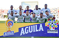 MONTERIA - COLOMBIA, 28-07-2019: Jugadores de Nacional posan para una foto previo al partido por la fecha 3 de la Liga Águila II 2019 entre Jaguares de Córdoba F.C. y Atlético Nacional jugado en el estadio Jaraguay de la ciudad de Montería. / Players of Nacional pose to a photo prior the match for the date 3 as part Aguila League II 2019 between Jaguares de Corrdoba F.C. and Atletico Nacional played at Jaraguay stadium in Monteria city. Photo: VizzorImage / Andres Rios / Cont