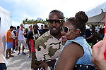 MIAMI BEACH, FL - FEBRUARY 20:  Jamie Foxx participates in Sports Illustrated Swimsuit 2014 Beach Volleyball:Models & Celebrity Chefs on February 20, 2014 in Miami Beach, Florida. (Photo by Johnny Louis/jlnphotography.com)